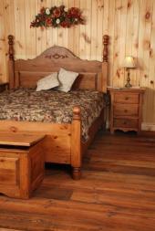 Masivní ložnice