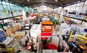 Fotografie z loňského ročníku výstavy Stavotech Olomouc