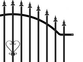 Kovový plot PILEG 2