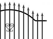 Kovový plot PILEG 4N