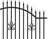 Kovový plot PILEG 5