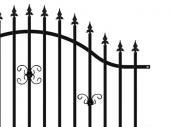 Kovový plot PILEG 10-3D
