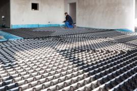 Realizace teplovodního podlahového vytápění