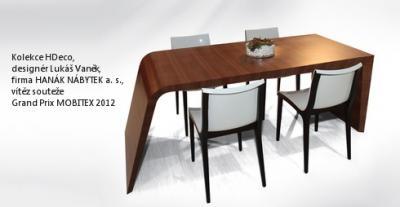 HANÁK NÁBYTEK - Kolekce HDeco, vítěz soutěže Grand Prix MOBITEX 2012