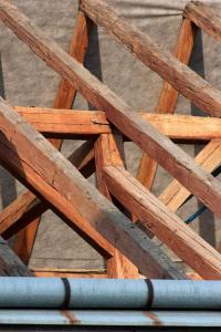 Rekonstruovaná konstrukce krovu