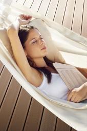 Relax s terasovými prkny Silva