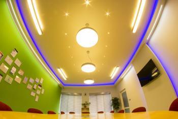 Ukázka osvětlení Showroomu