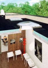 Okno do plochých střech