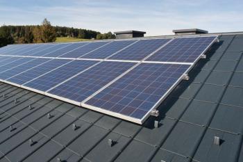 Solární elektrárna na střeše