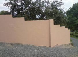 Zděný plot