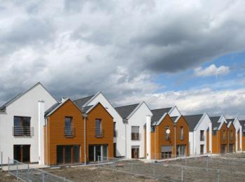 Moderní dřevostavby - řadové domy
