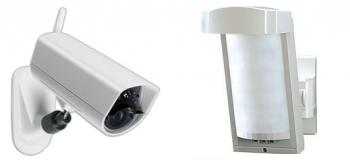 Venkovní alarm a ip kamera