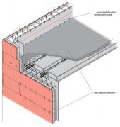 Krok 3 - betonování žebírkového monolitického stropu
