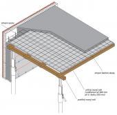 Krok 3 - betonování monolitické stropní desky