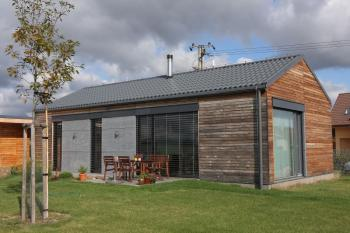 Nová krytina Lindab na moderním rodinném domu