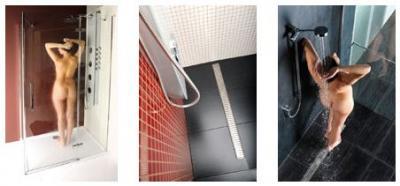 Bezpečnost ve sprchovém koutě