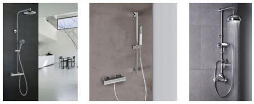 Termostatické vodovodní baterie