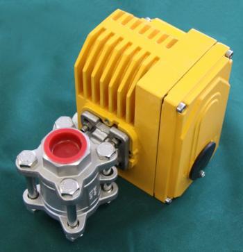 Elektronicky řízený kulový ventil