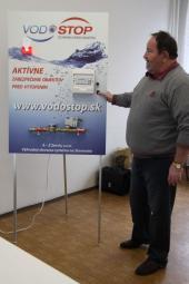 Milan Mader u panelu VODOSTOP - Slovensko