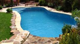 Dokončený bazén