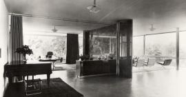 Hlavní obytný prostor, 30. léta