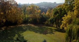 Pohled z horní terasy do zahrady, 2009, foto: David Židlický