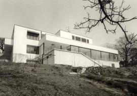 Zahradní průčelí, 1985, foto: Archiv města Brna