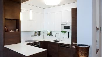 Vybavení a osvětlení kuchyně