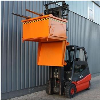Vysokozdvižný vozík + kontejner s výklopným dnem, model 2033