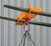 Návlačka na vidlici VZV dvojitá, nosnost 2 000 kg