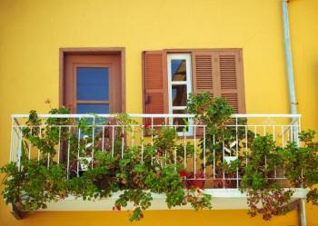 Oživlý balkón