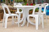 Tradiční plastový zahradní nábytek