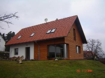 Novostavba nízkoenergetického domu