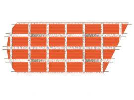 Realizace stropu z keramických stropních panelů CZ-JW