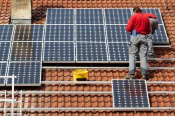 Instalace fotovoltaické elektrárny na střechu RD