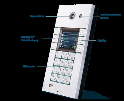 Dveřní komunikátor Helios IP Vario