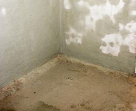 Vlhkost ve stěnách a v podlaze