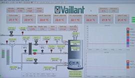 Schéma zapojení kondenzačního kotle ecoTEC a on-line monitoring