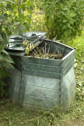 Odkrytý kompostér