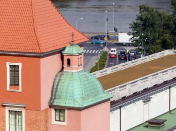 Měděná střecha s patinou