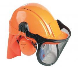 Lesnický komplet Peltor PEL LES - ochrana sluchu, hlavy a očí, respektive obličeje
