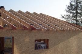 Výstavba montované dřevostavby rámové konstrukce