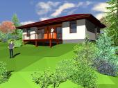 Typový rodinný dům Lignia 115