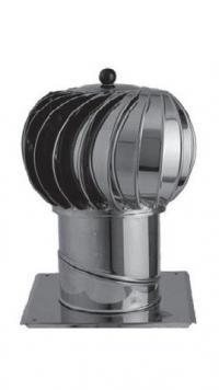 Střešní ventilátor - ventilační hlavice ventilační turbíny