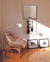 Umístění vnitřní jednotky nástěnné klimatizace v interiéru