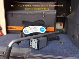 Zařízení pro detekci vodovodních poruch H2 metodou