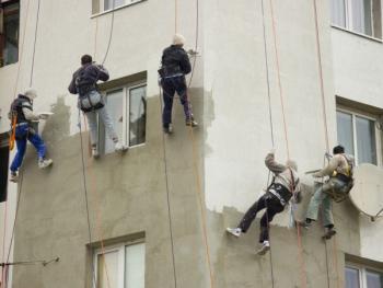 Výškové práce na laně