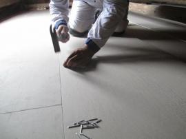 Suchá sádrokartonová podlaha Knauf