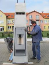 Instalace systému Schiedel KINGFIRE