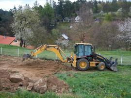 Úprava terénu pozemku